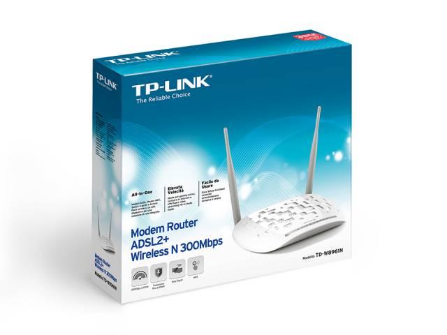 Modem Router Inalámbrico TP-LINK TD-W8961N