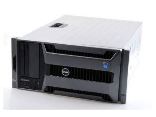 Servidor Recertificado DELL T710 2x Xeon E5530 2.4Ghz (24Gb2 x 300Gb DVD) Rackeable (Incluye guias para rack) - Torre