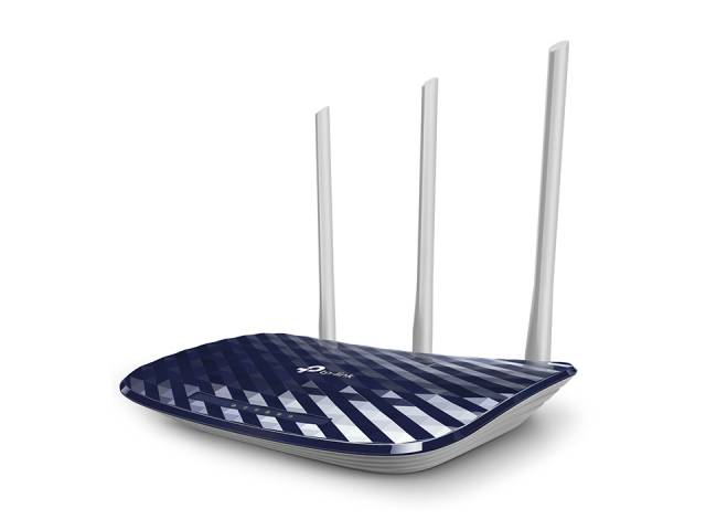 Router Wireless TP-LINK Archer C20 Dual Band AC750  (433/300 Mbps)