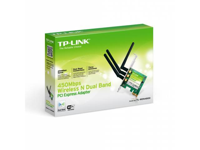 Adaptador PCI Express de Banda Dual TP-LINK TL-WDN4800
